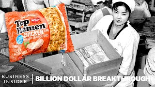 How Instant Ramen Became An Instant Success | Billion Dollar Breakthrough