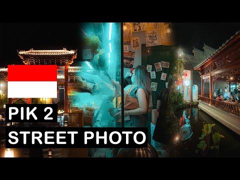 Relaxing 15 Minutes PIK 2 JAKARTA Night Street Photography POV