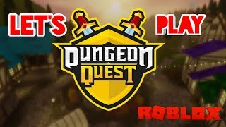 PLAYING NEW UPDATE DUNGEON QUEST ON OUR VIP SERVER!!! CARRIES AND A GIVEAWAY!! ROBLOX LIVE!
