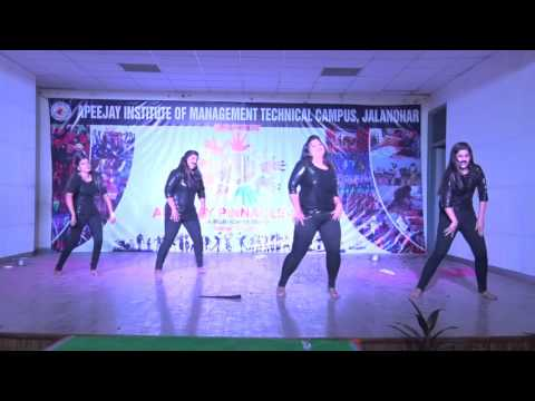 Pinnacle-2015:Group Dance-Team No:  4