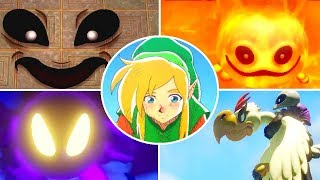 The Legend of Zelda: Link's Awakening - All Bosses (Switch)