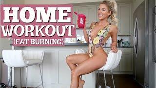 Home Workout (FAT BURNING) | Meet my butler