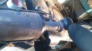 Vider pot de filtre a particules fap Peugeot 307