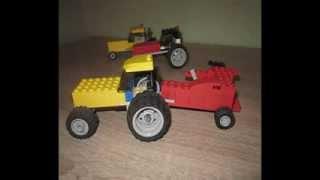 LEGO traktory i maszyny rolnicze