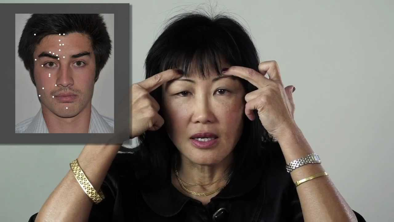 Facial Acupressure Points - YouTube