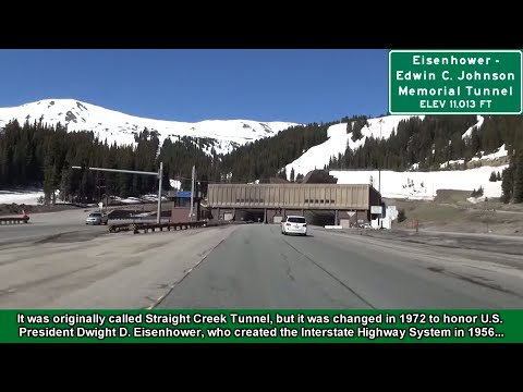 2K14 (EP 9) Interstate 70 in Colorado: The Eisenhower Tunnel