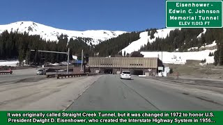 2K14 (EP 9) I-70 West in Colorado: The Eisenhower Tunnel