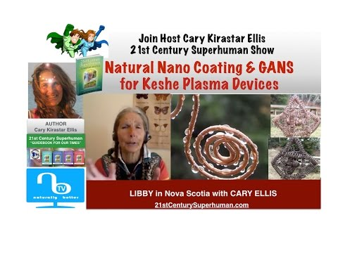 Natural Nano Coating for Keshe Plasma Tech with Libby - 21st Century Superhuman Show