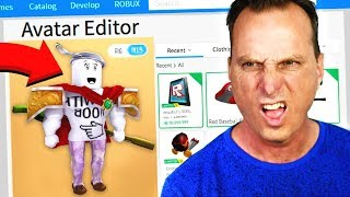 MAKING MY DAD A ROBLOX ACCOUNT!