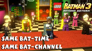 Lego Batman 3 Beyond Gotham - Same Bat-Time Same Bat-Channel Gameplay