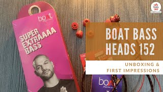 Boat Bass Heads 152 | Unboxing & First Impressions