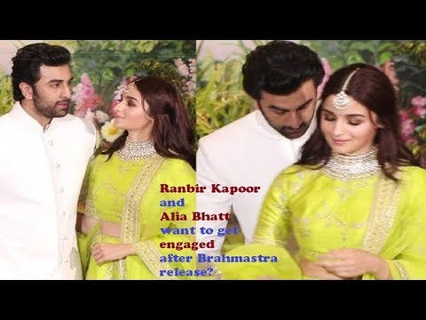 Ranbir Kapoor and Alia Bhatt want to get engaged after Brahmastra release ? Alia bhatt live video Mp3