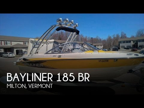 [UNAVAILABLE] Used 2012 Bayliner 185 BR in Milton, Vermont