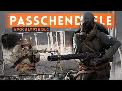 ➤ PASSCHENDAELE MAP FIRST LOOK  IMPRESSIONS!  Battlefield 1 Apocalypse DLC Gameplay