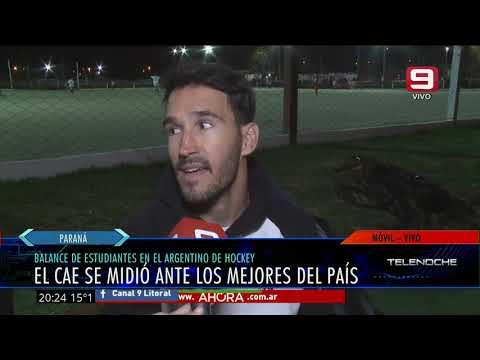 El balance del CAE luego del Torneo Argentino de Hockey
