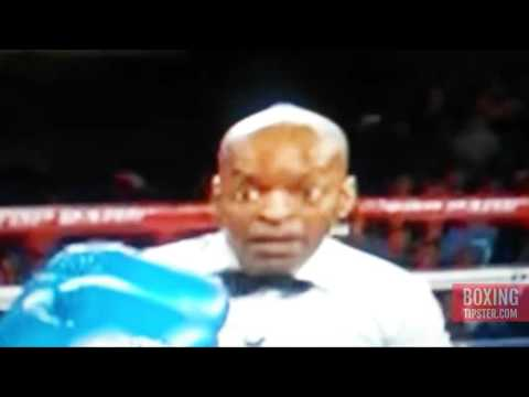 Referee Steve Willis loving his job - Crawford Vs Lundy