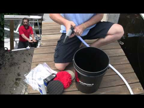 How to Maintain and Clean your Dual Action Polisher Buffing Pads
