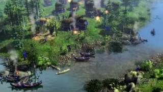 Age of Empires III: The WarChiefs PC Games Trailer -