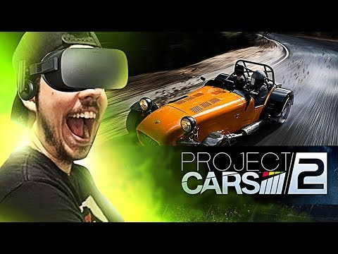PROJECT CARS 2 - OCULUS RIFT NA CALIFORNIA HIGHWAY SIMPLISMENTE LINDO