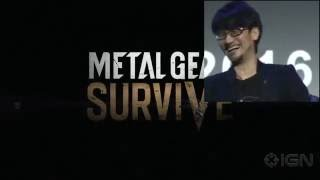Hideo Kojima REACTS to Metal Gear: SURVIVE