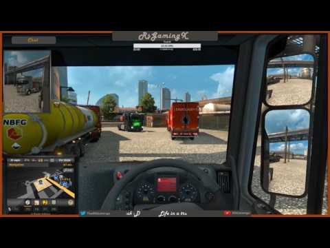 Euro Truck Simulator 2 Multiplayer #EP2 - First deliveries