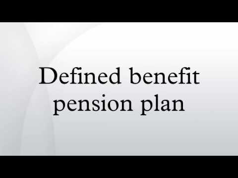 Defined benefit pension plan