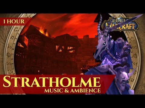 Vanilla Stratholme - Music & Ambience (1 hour, 4K, World of Warcraft Classic)