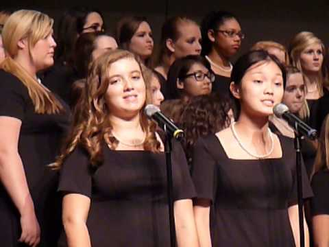 I am but a Small Voice by Northgate High School Chorus