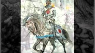 Sir James 2nd Earl of Douglas at the Battle of Otterburn 1388