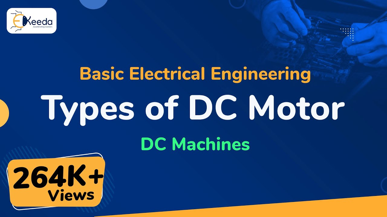 Types Of Dc Motor Machines Basic Electrical Engineering Wiring Diagram Karisma Dcmachine Basicelectricalengineering Beevideolectures