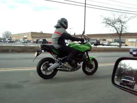 2009 Kawasaki Versys - YouTube