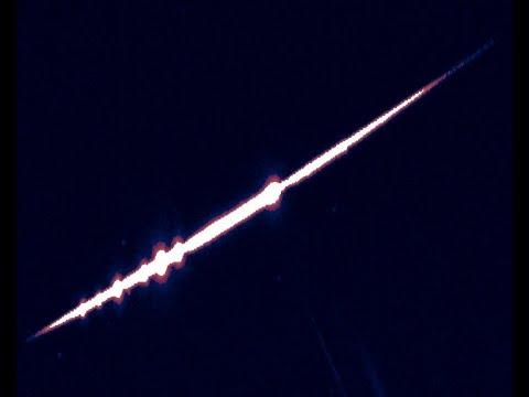 Captan una bola de fuego sobrevolando el sur peninsular a 50.000 km/hora
