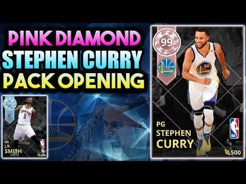 NBA 2K18 PINK DIAMOND STEPHEN CURRY PACK OPENING