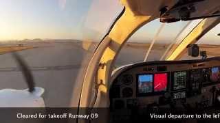 Cessna 340 IFR Flight - MMQT-MMRX