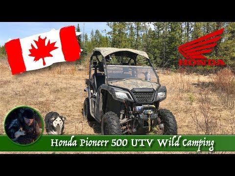 Honda Pioneer 500 UTV Wild Camping