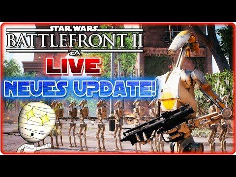 Star Wars: Battlefront II 🔴 Weiter den neuen Patch testen! - PS4 Livestream