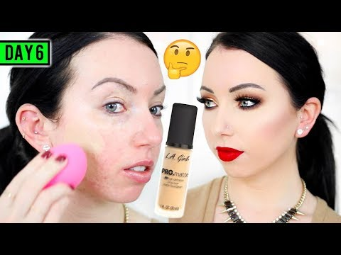 Download Youtube: LA GIRL PRO MATTE FOUNDATION [First Impression Review & Demo] 15 DAYS OF FOUNDATION