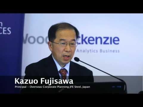Kazuo Fujisawa, JFE Steel– Russian Metals Summit