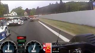 heavy crash at spa 06 05 11 on board with david jacobs radical sr8