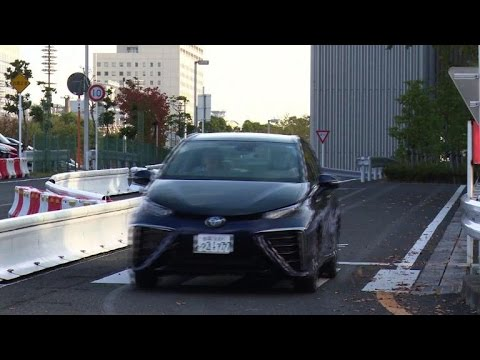 Toyota rolls out world's first mass market fuel-cell car