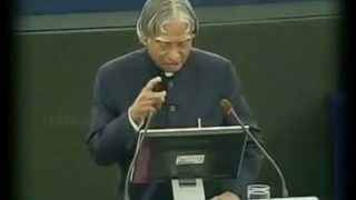 Abdul Kalam inspirational speech