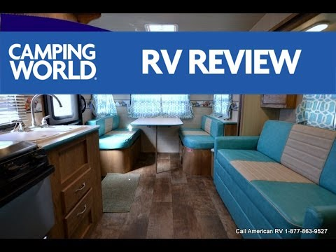 2017 Vintage Cruiser 23RSS   Travel Trailer   Turquois - RV Review