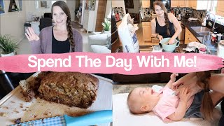 Baking, Dinner & Life!  Spend the Day With Me!  BEST Banana Bread & 30 Min Rolls! Get It All Done!