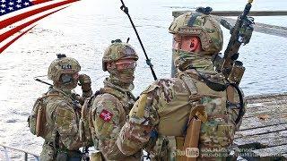 アメリカ海兵隊との合同訓練中のノルウェー海軍・特殊戦グループの沿岸レ...