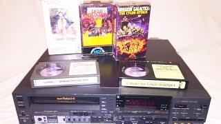 Sony SuperBeta SL-HF870D Betamax VCR - For Rebels
