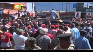 Rais Uhuru Kenyatta azuru maeneo ya Kiambu