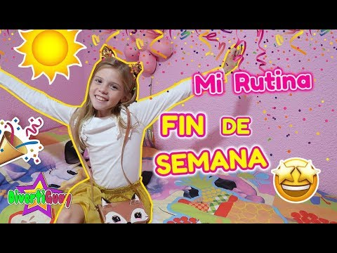 MI RUTINA DE MAÑANA DE FIN DE SEMANA!! MORNING ROUTINE DANIELA DIVERTIGUAY