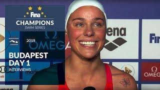 Interviews 1/2 - Budapest (HUN) - FINA Champions Swim Series 2019