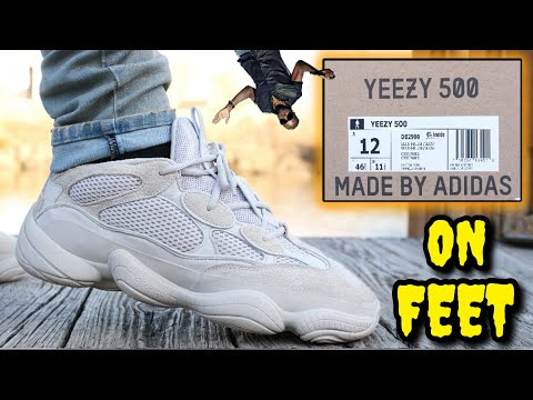 ADIDAS YEEZY 500 DESERT RAT / BLUSH ON FEET REVIEW! Watch BEFORE You Buy!
