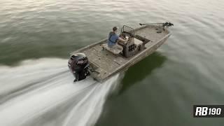Ranger Aluminum RB190 On Water Footage